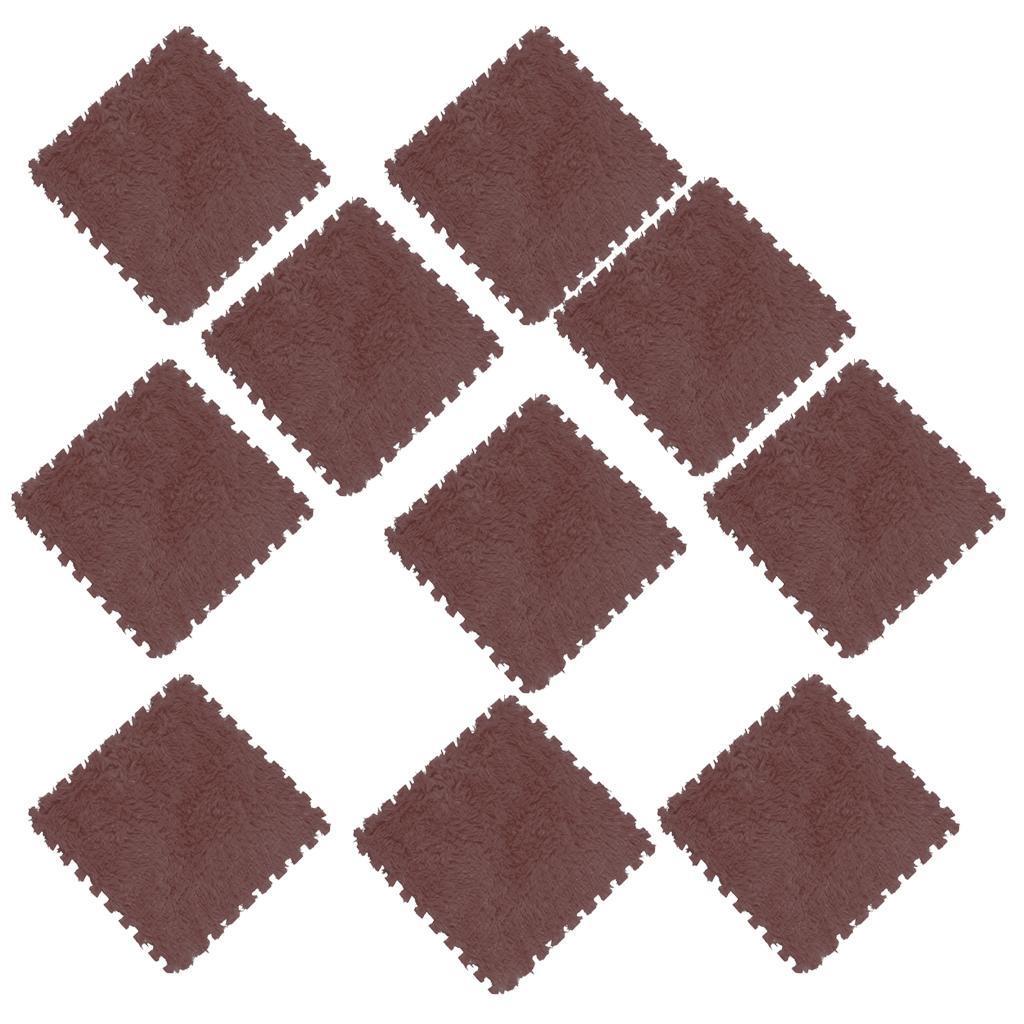 10Pcs-Foam-Children-Soft-Play-Exercise-Mats-Safe-Interlocking-Puzzle-Tiles thumbnail 4