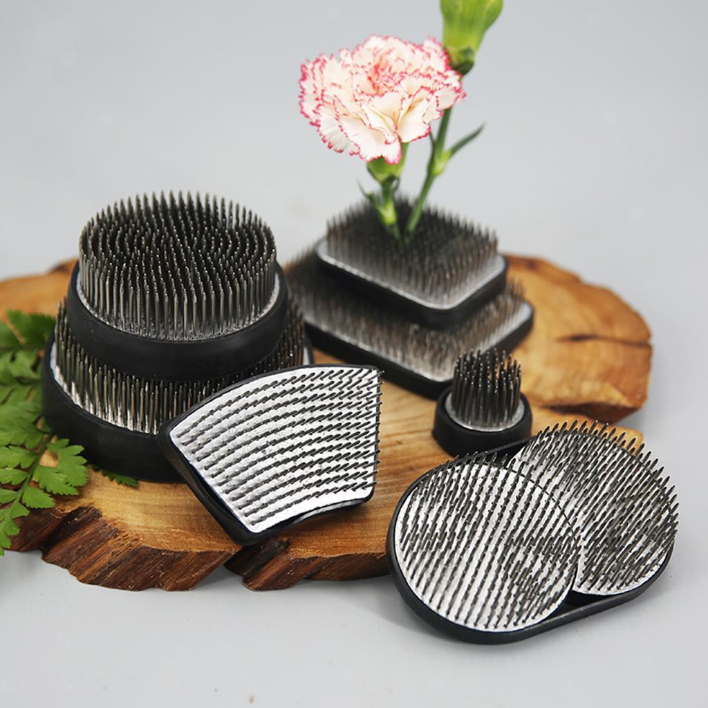 Ikebana-Kenzan-Spiky-Flower-Frog-Plant-Arranging-Fixed-Tool-Flower-Hobby thumbnail 30