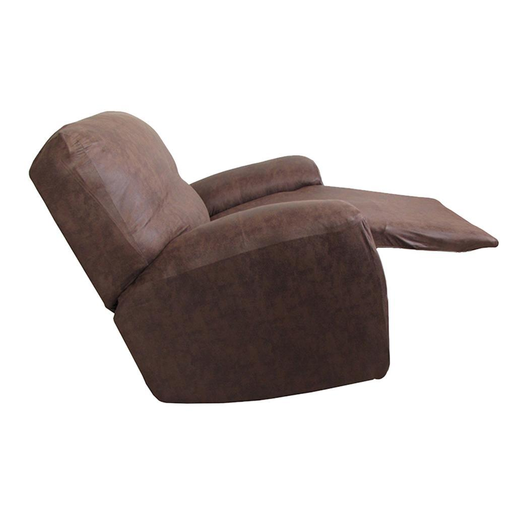Standard Polyester Suede Recliner Slipcover Furniture Sofa