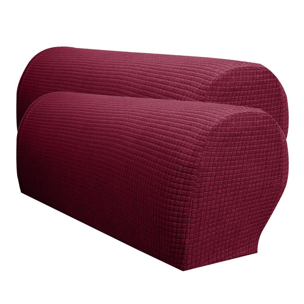21 5 X 9 5 X 9 Couch Arm Covers: 2 X Waterproof Spandex Stretch Armrest Covers Couch