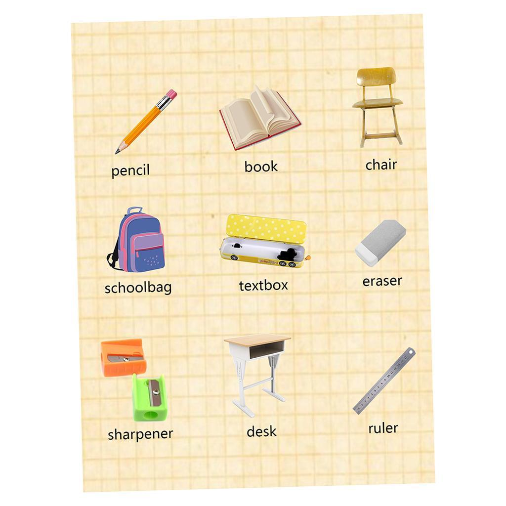 Toddlers-Kids-Fun-Early-Learning-Educational-Posters-Chart-for-Preschoolers thumbnail 46