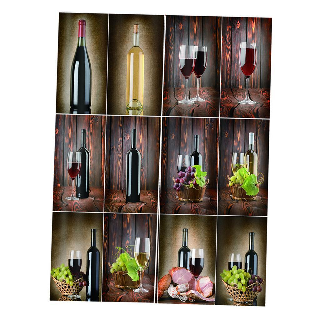 miniatura 16 - Tende per finestre decorative Stampa di bottiglie di vino, tende a ridurre