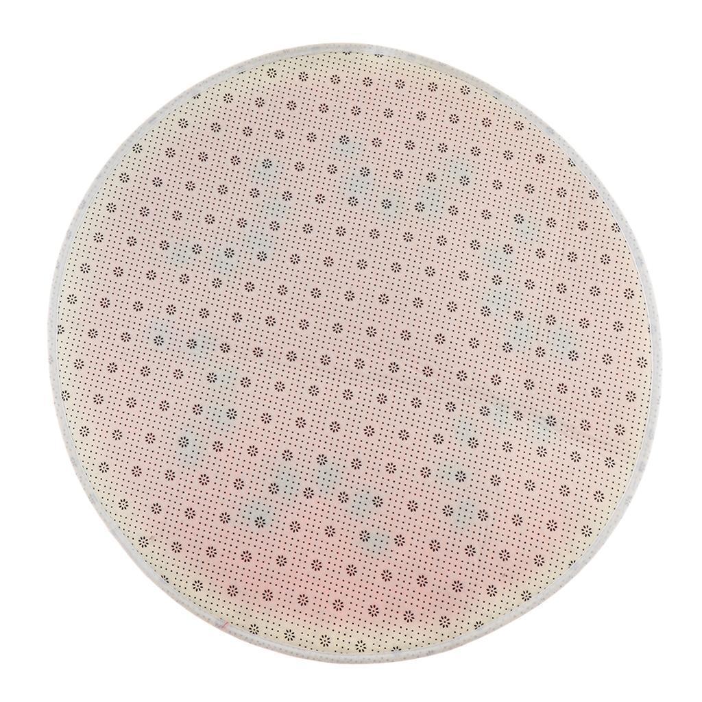 Tappeto-rotondo-porta-frutta-stampato-tappetino-antiscivolo-camera-da miniatura 11