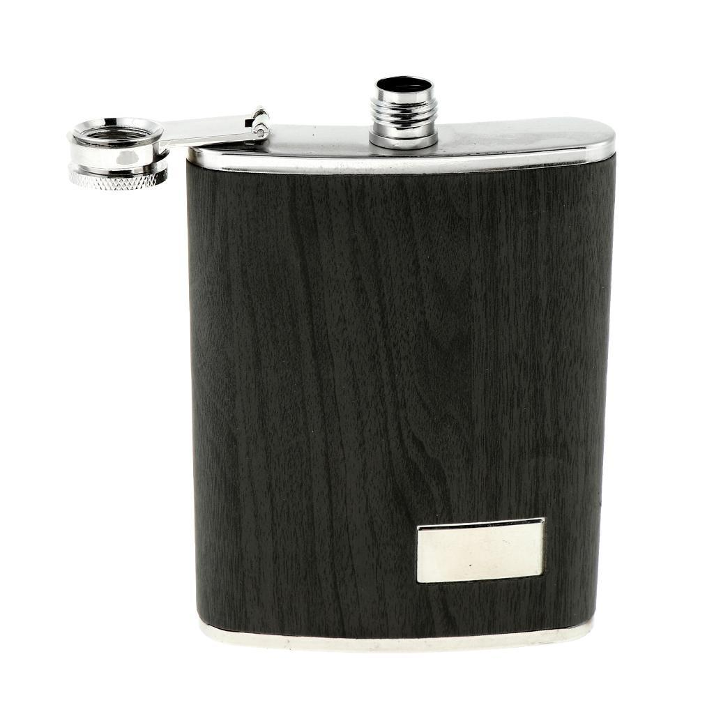 8oz-304-Stainless-Steel-Pocket-Hip-Flask thumbnail 6