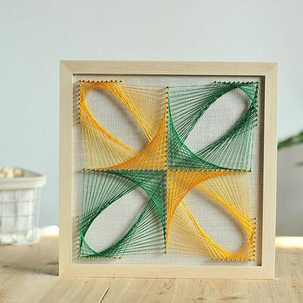 Nail Pins String Art Kits for Childern Adults DIY Crafts ...