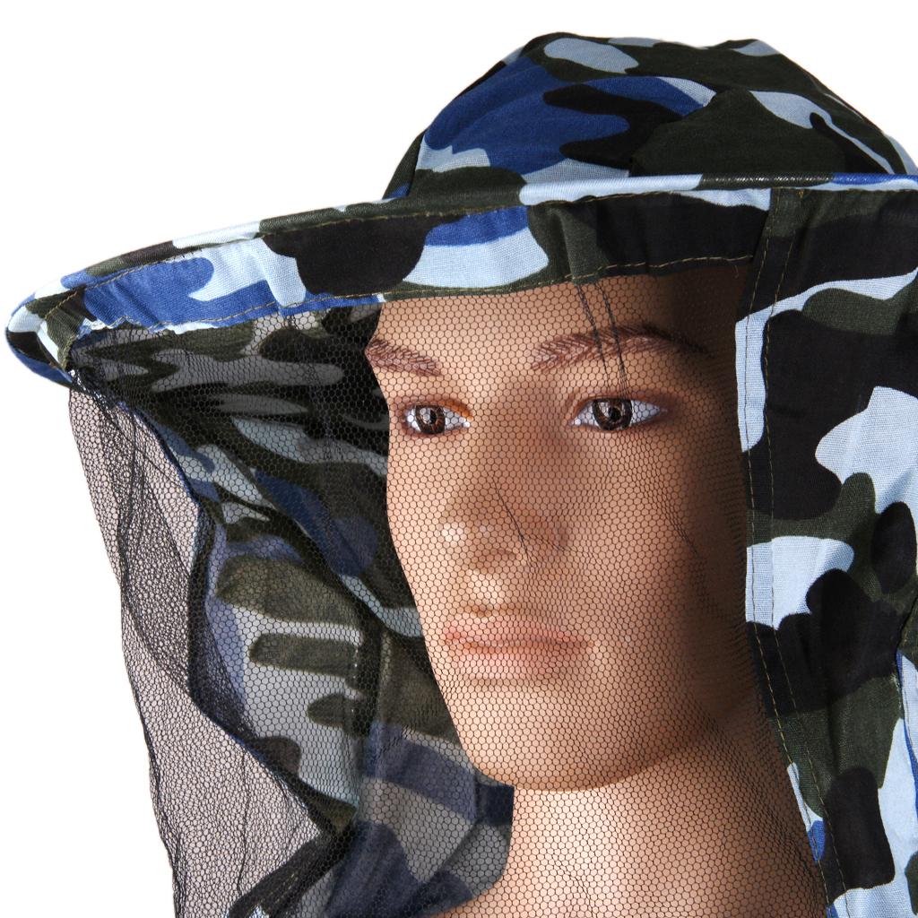 Giacca-Con-Cappello-e-Maschera-Rete-Protezione-Ape-Per-Apicoltura miniatura 35