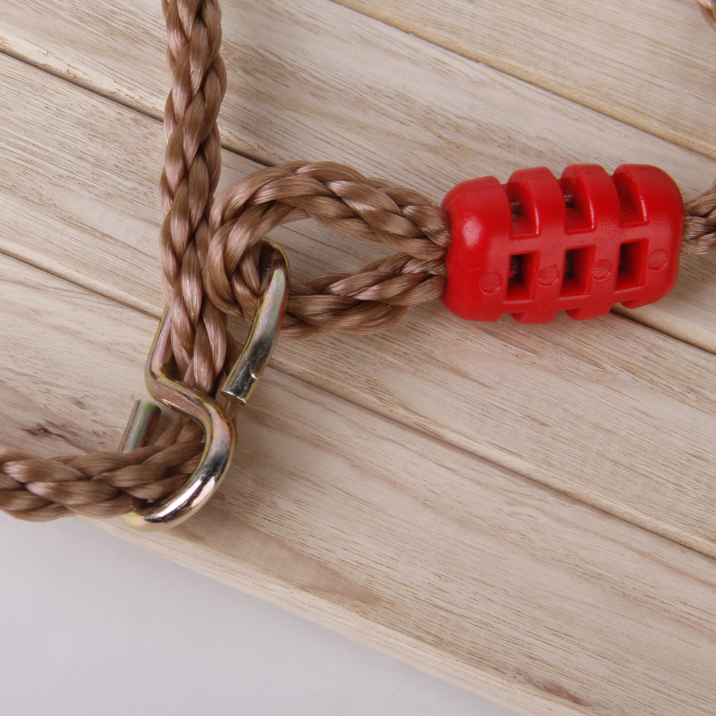 Garden-Swing-Set-Seat-Rope-Strap-Connector-Chain-Kid-Adult-Outdoor-Fun-Play-Game miniatuur 16