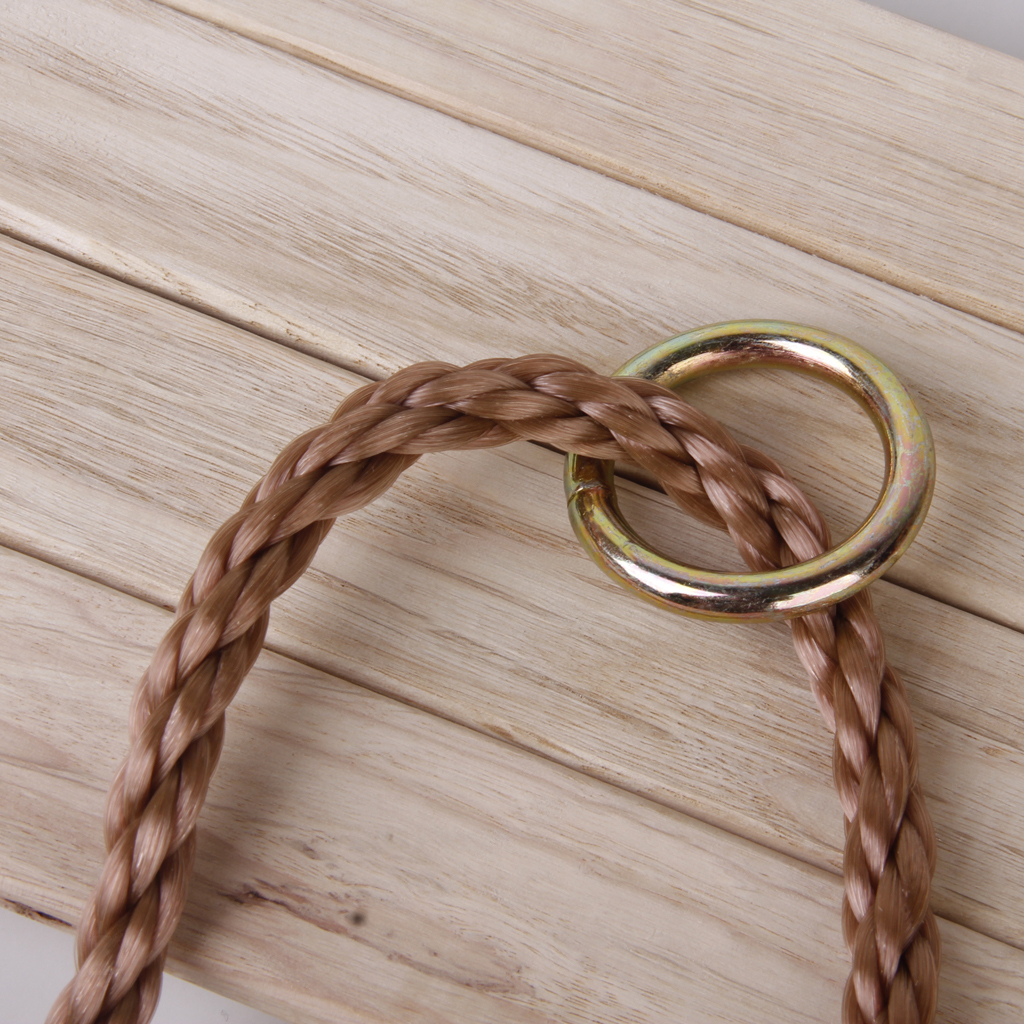 Garden-Swing-Set-Seat-Rope-Hanging-Strap-Connector-Metal-Chain-Kid-Adult-Outdoor miniatuur 26