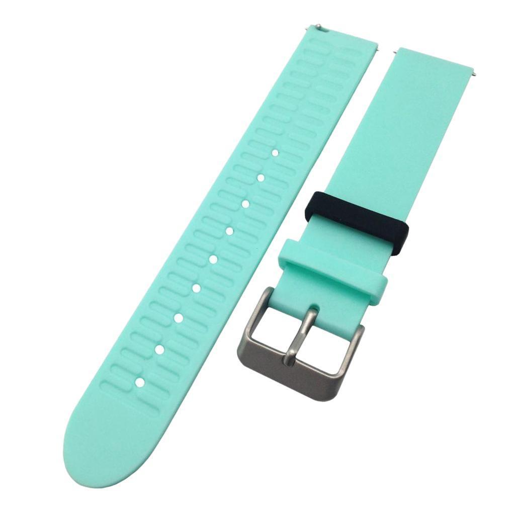 Indexbild 22 - Smart Watch Wristband, TPE Gummi Gel Handgelenk Band Bügel Gurt und