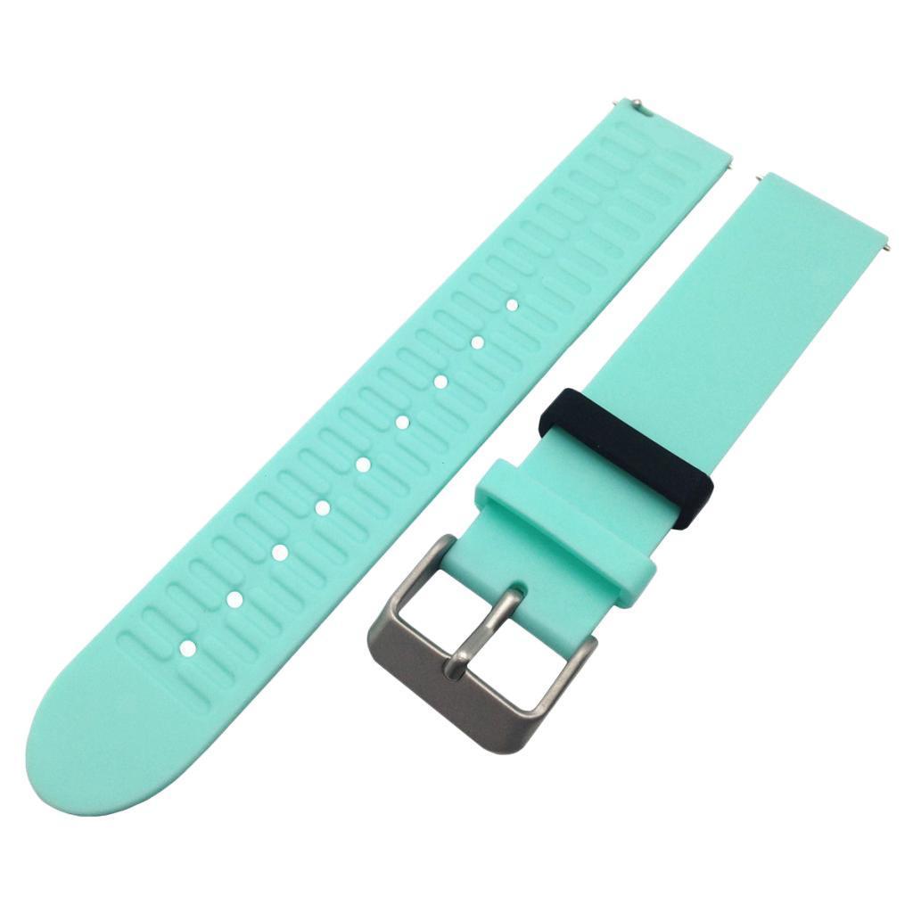 Indexbild 21 - Smart Watch Wristband, TPE Gummi Gel Handgelenk Band Bügel Gurt und