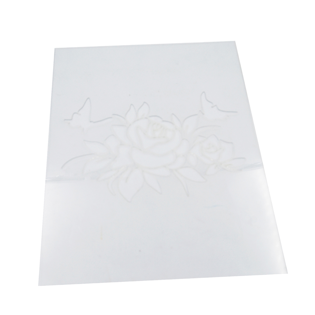 Flower-Pattern-Wall-Paint-Stencil-Template-Room-Home-Improvement-Decoration thumbnail 3