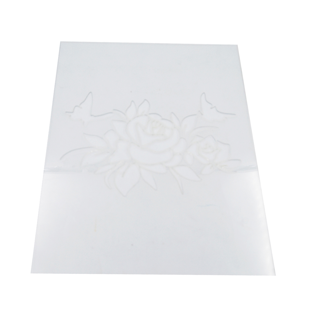 Reusable-Wall-Painting-Stencil-Home-Upholstery-DIY-Template-Flower-Pattern thumbnail 3