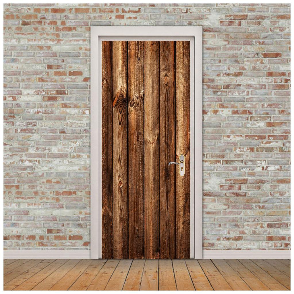 thumbnail 55 - 3D Self Adhesive Door Sticker DIY Decor Poster for Home Room Decor