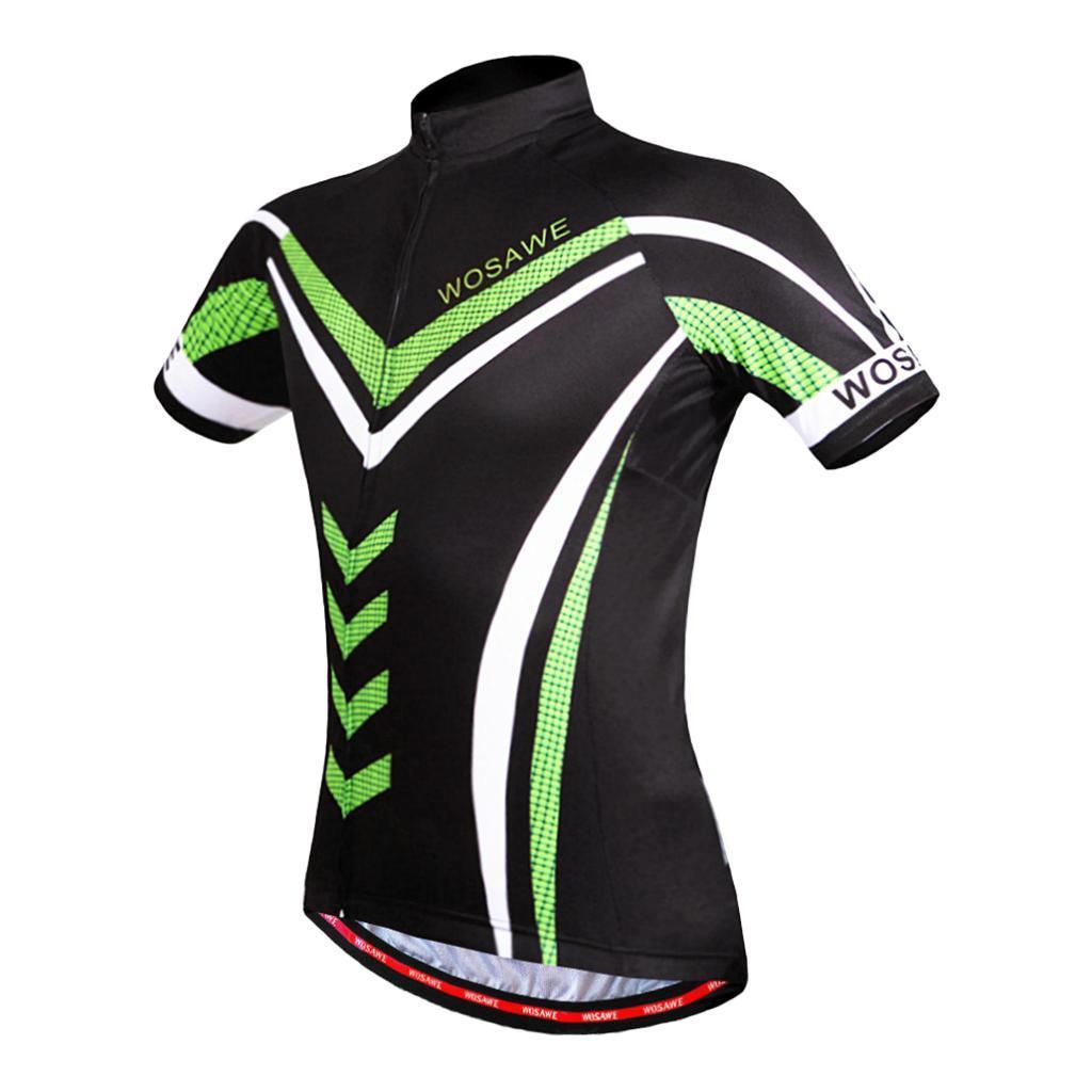 Homme-Maillots-De-Cyclisme-Velo-a-Manches-Courtes-Respirant-T-Shirt miniature 3