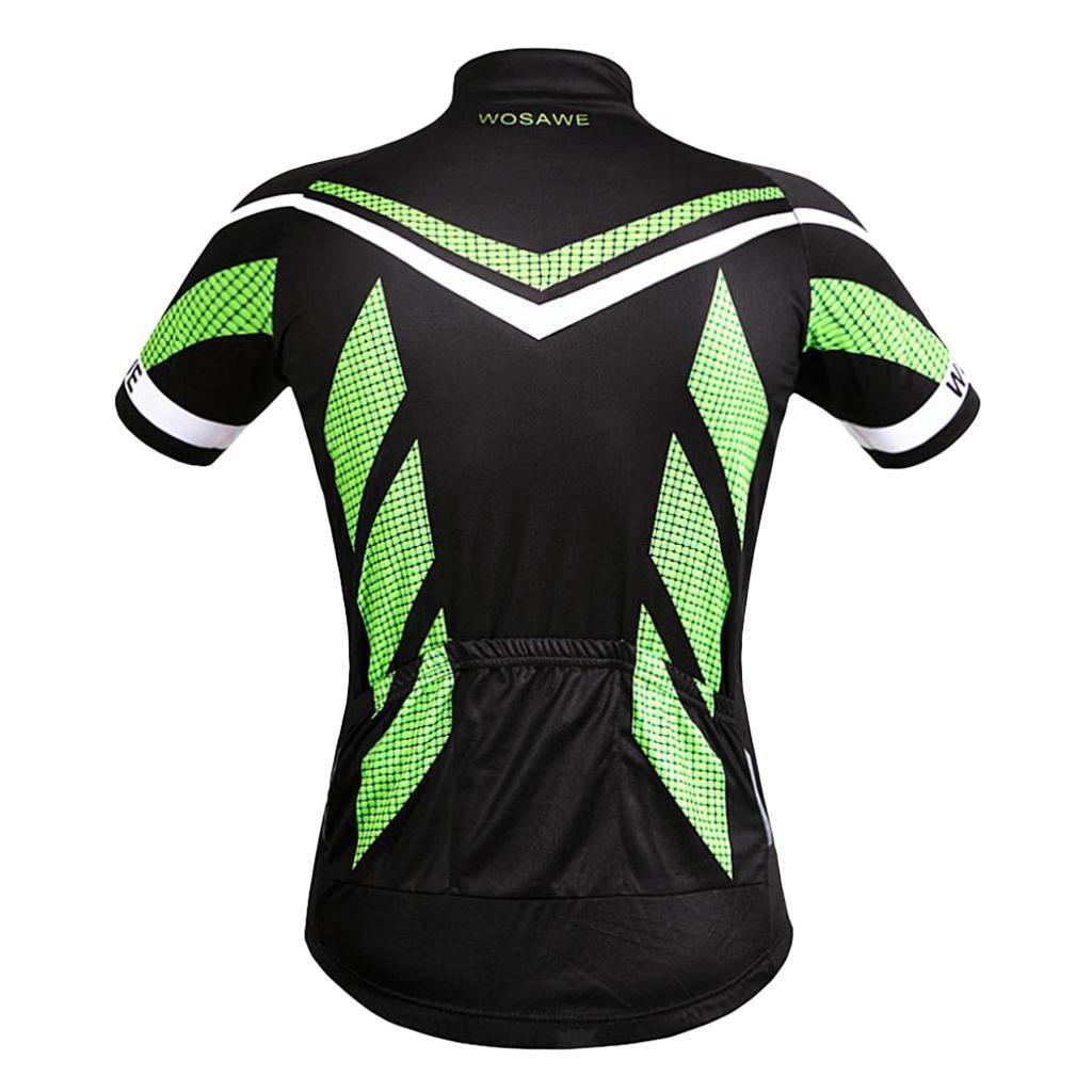 Homme-Maillots-De-Cyclisme-Velo-a-Manches-Courtes-Respirant-T-Shirt miniature 4