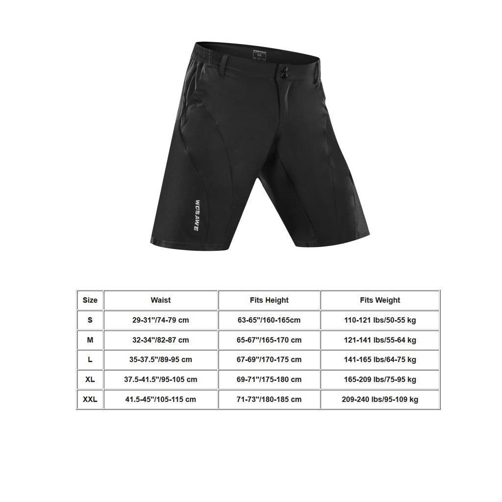 Shorts-Cuissard-De-Velo-Cyclisme-Respirant-Sechage-Rapide-Ultra-Leger miniature 7