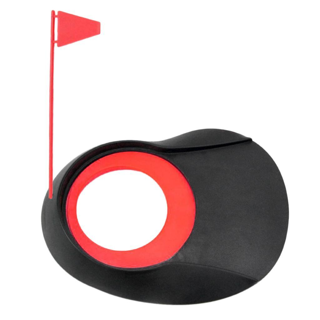 Foro-per-bandiera-per-allenamento-di-golf-indoor-all-039-aperto miniatura 8
