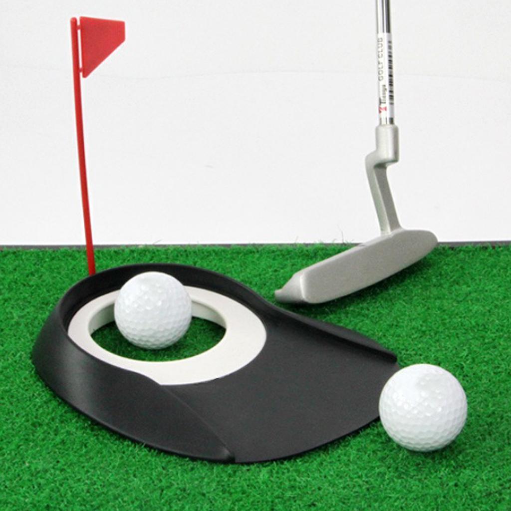 Foro-per-bandiera-per-allenamento-di-golf-indoor-all-039-aperto miniatura 9