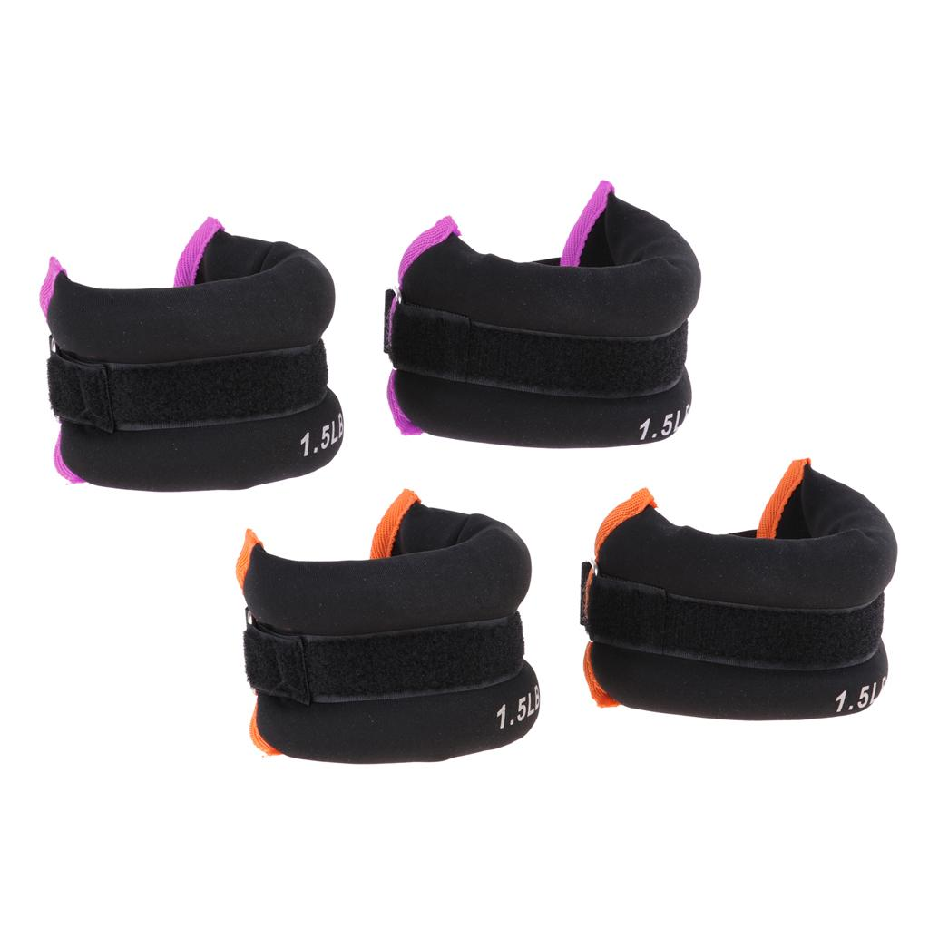 Ankle Weights Wrist Weights 0.55lbs for Weight Lifting Core /& Leg Training