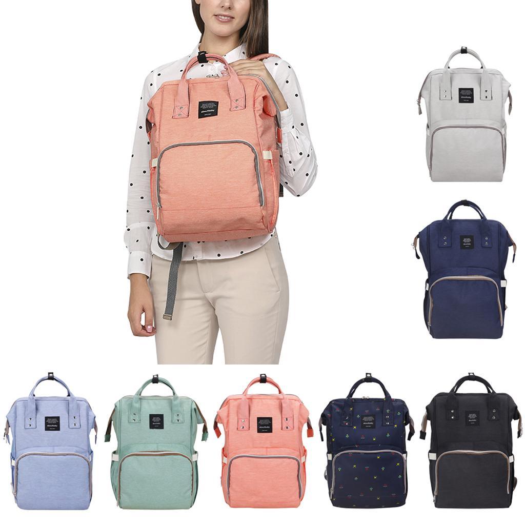 Groß Damen Mama Rucksack Babytasche Wickeltasche Pflegetasche Multifunktional