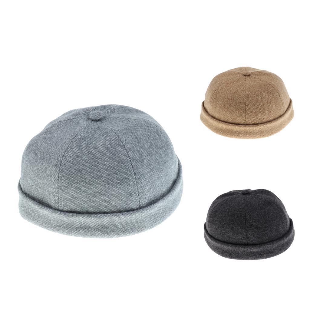 2pcs-Bonnet-Docker-en-Coton-Retro-Style-Chinois-pour-Homme miniature 7