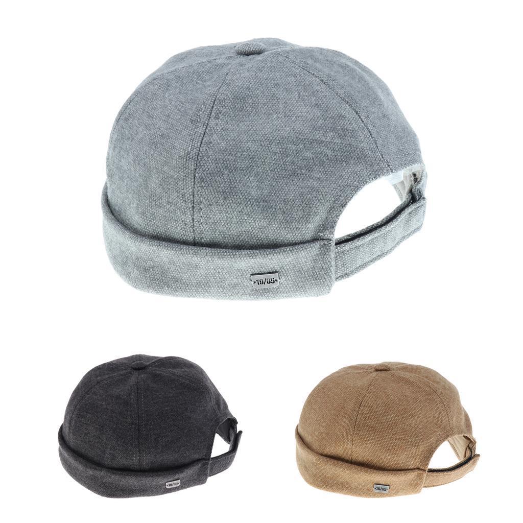 2pcs-Bonnet-Docker-en-Coton-Retro-Style-Chinois-pour-Homme miniature 12