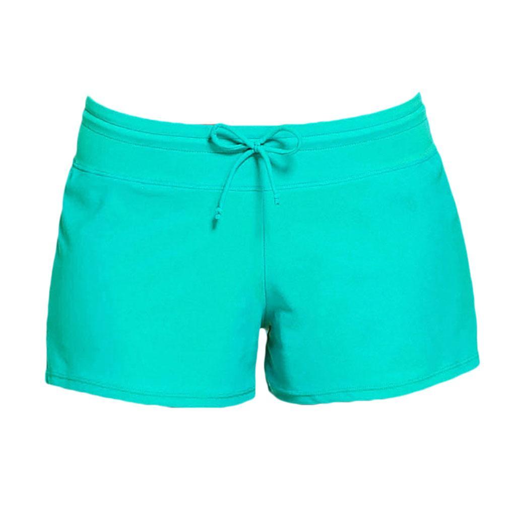 Détails sur Shorts de Plage en Nylon Maillot de Bain Femme pour Natation Surf