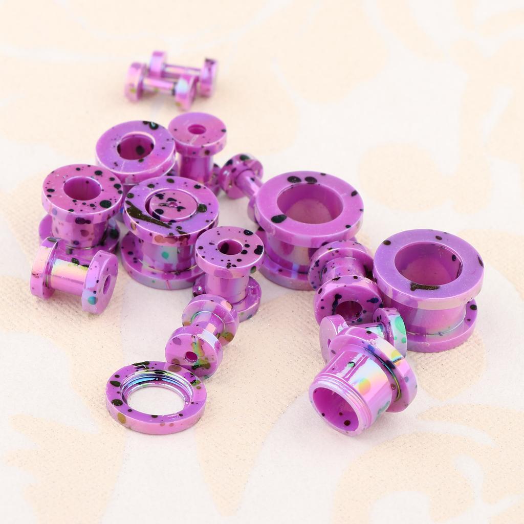16-Pezzi-Tappi-Auricolari-Posteriori-Vite-8-Formati-Assortiti-Accessori miniatura 13
