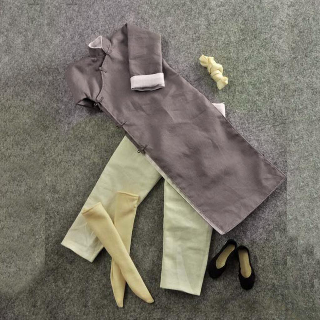 1-6-Clothes-Kung-Fu-Set-for-12-039-039-Enterbay-Bruce-Lee-Jet-Li-Donnie-Yen-Figure miniature 13