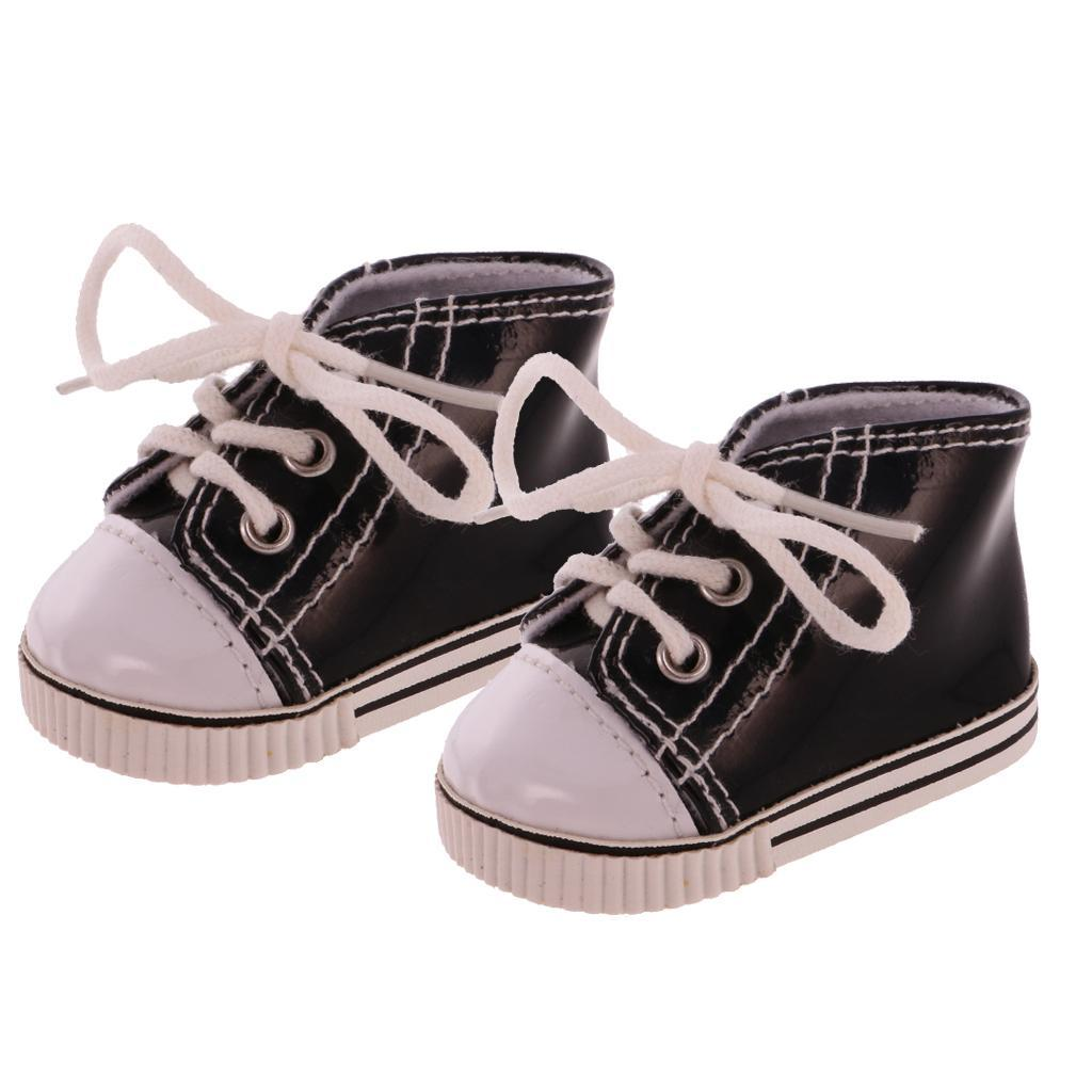 New-Cute-Pair-of-Doll-Shoes-for-18-039-039-American-doll-AG-Dolls-Clothes-Accessories thumbnail 20
