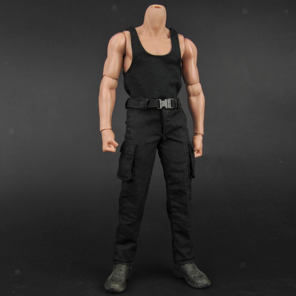 1-6-Scale-Men-039-s-Outfits-Clothes-Set-For-12-039-039-Hot-Toys-Action-Figure-Accessories miniature 25
