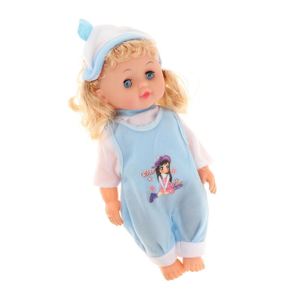 Newborn Baby Doll Reborn Toddler Kids Pretend Play Toy Mom