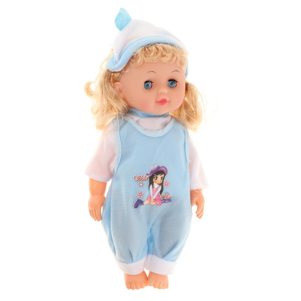 Newborn Baby Doll Reborn Toddler Kids Pretend Play Toy Mom