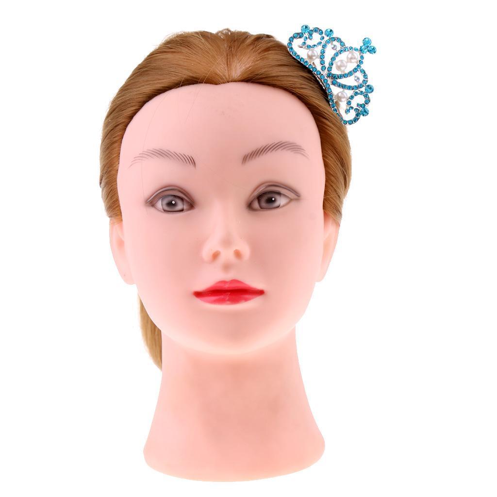 Princess-Crystal-Mini-Hair-Crown-Tiara-Hair-Comb-Girls-Woman-Wedding-Party-Gift thumbnail 3