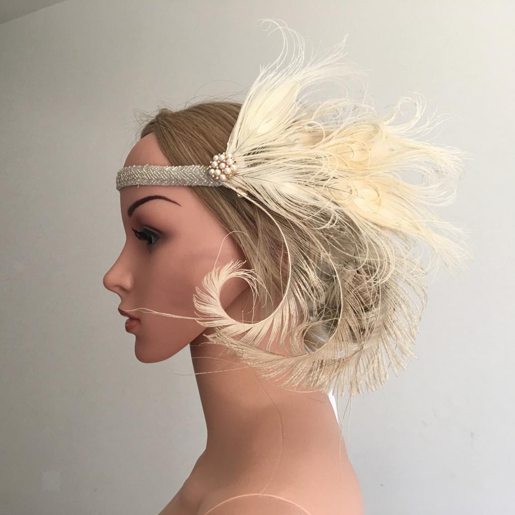 Bandeau-Cheveux-Serre-tete-Femme-Accessoire-de-Cheveux-Fantasie-Decor miniature 8