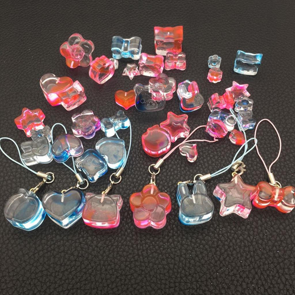 DIY Earring Necklace Pendant Silicone Mold Epoxy Resin Molds Jewelry ToolSA