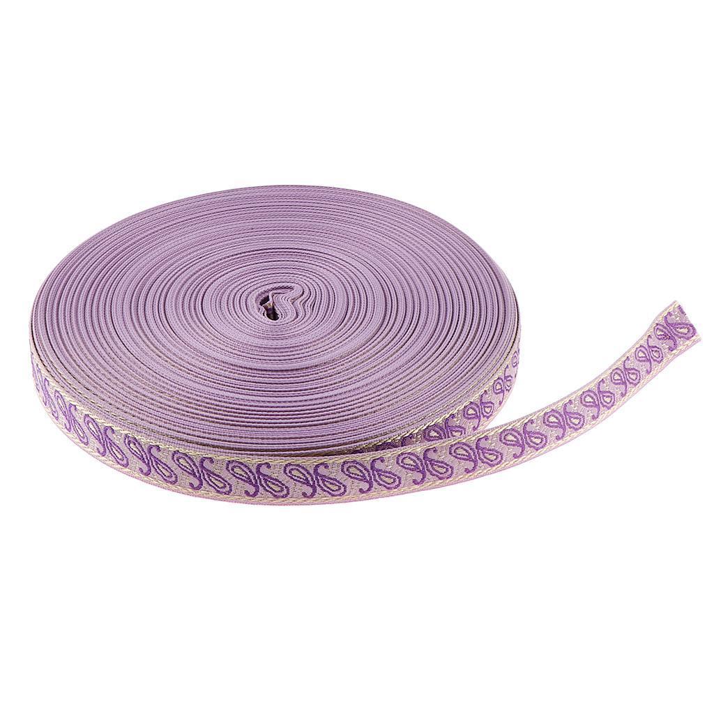 50-Yard-Ethnic-Tassel-Trim-Embroidery-Fringe-Ribbon-DIY-Sewing-Curtain-Skirt thumbnail 8