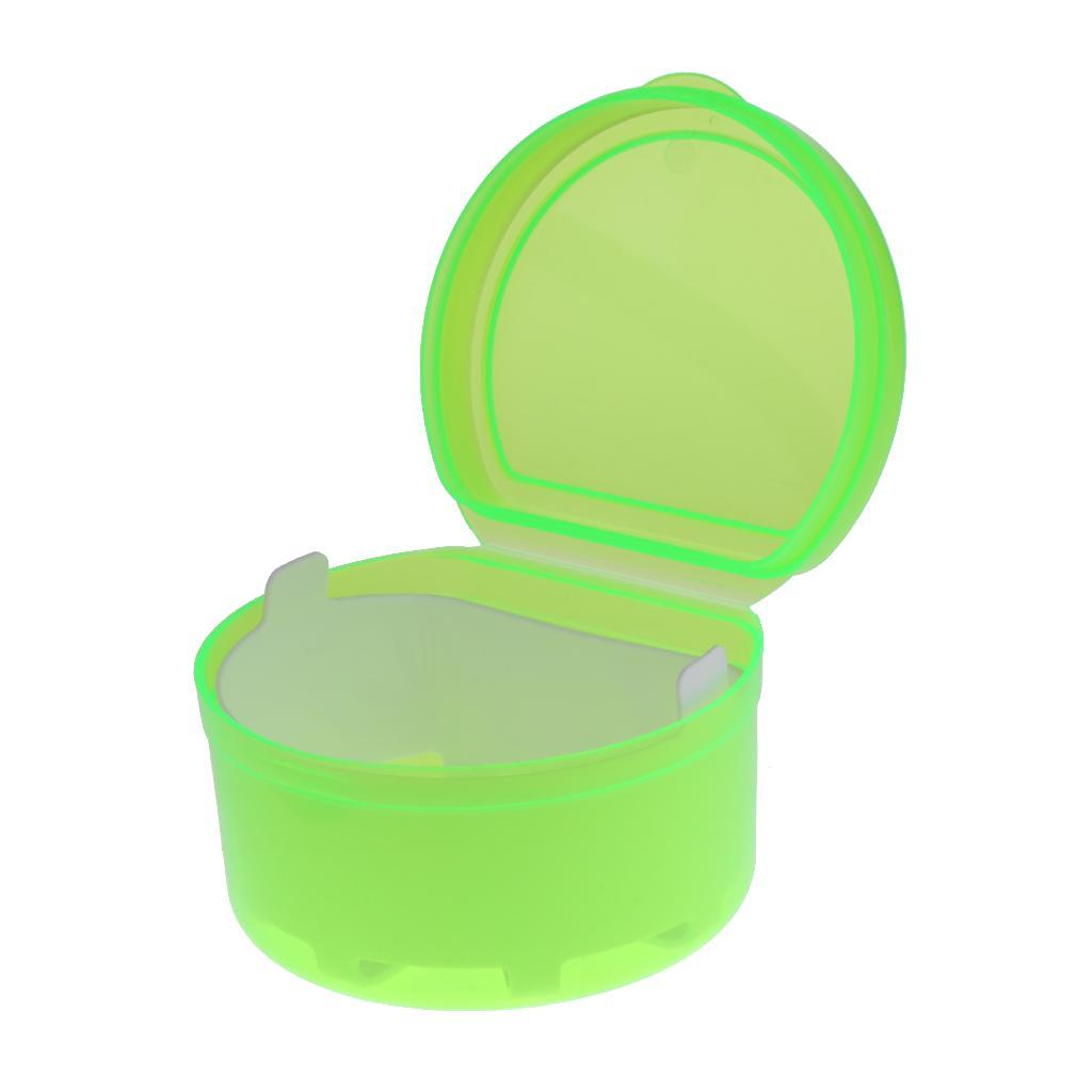 Plastic-Orthodontic-Denture-Teeth-Box-Container-Dental-Holder-Storage-Case-Cup thumbnail 2