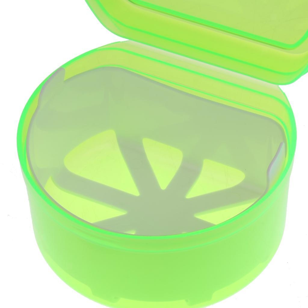 Plastic-Orthodontic-Denture-Teeth-Box-Container-Dental-Holder-Storage-Case-Cup thumbnail 4