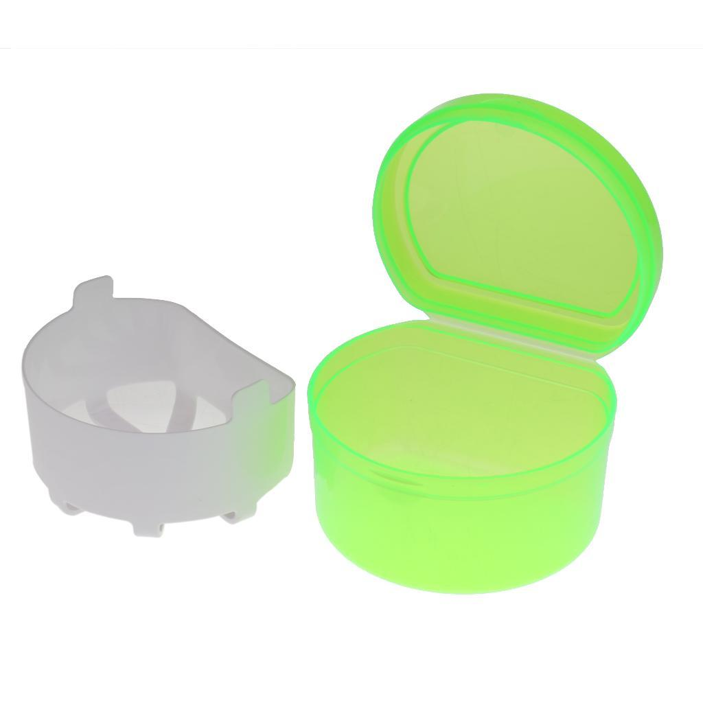 Plastic-Orthodontic-Denture-Teeth-Box-Container-Dental-Holder-Storage-Case-Cup thumbnail 5