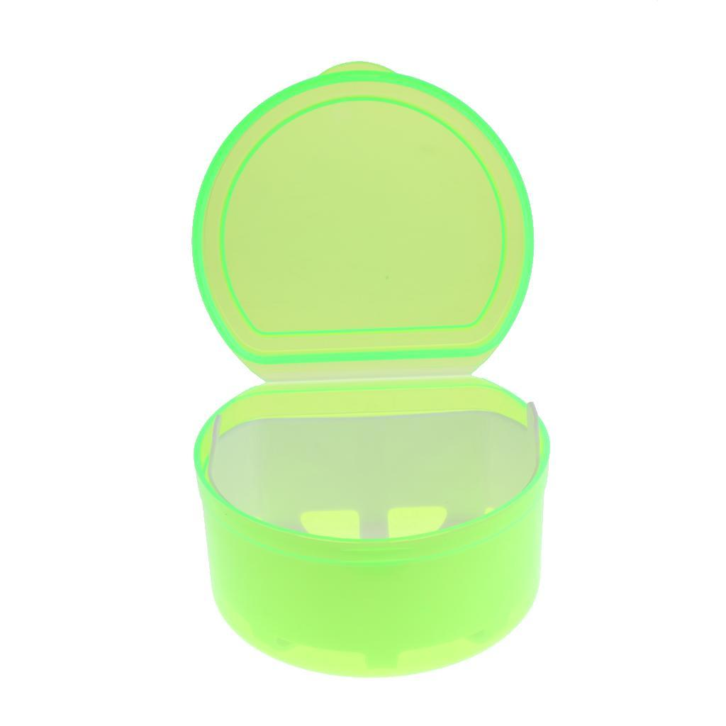Plastic-Orthodontic-Denture-Teeth-Box-Container-Dental-Holder-Storage-Case-Cup thumbnail 3