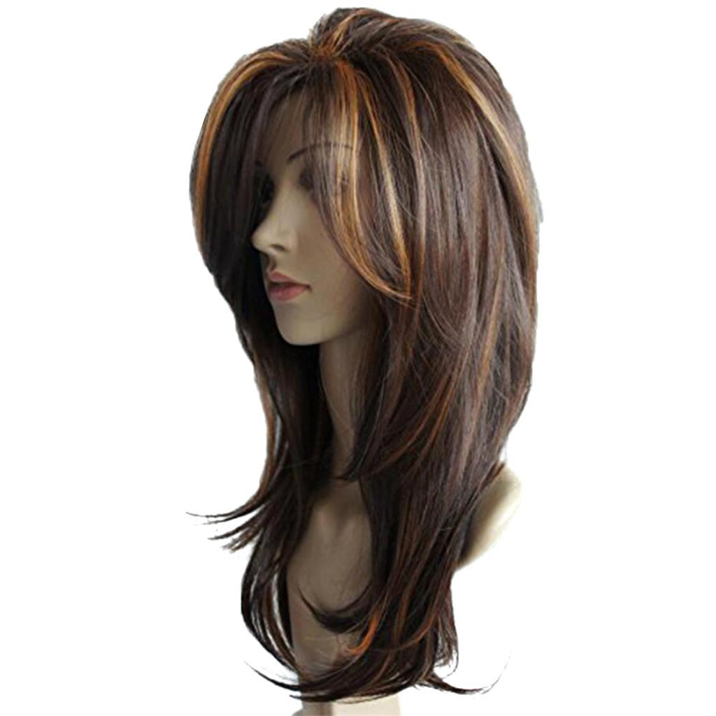 16-039-039-Natural-Looking-Side-Part-Wavy-Straight-Full-Hair-Wig-Women-Wedding-Wig thumbnail 15