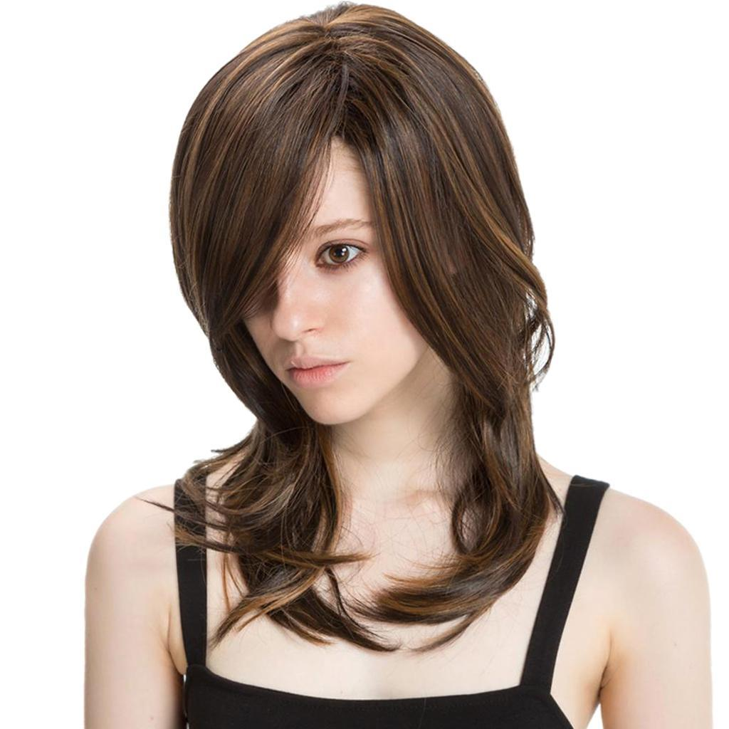 16-039-039-Natural-Looking-Side-Part-Wavy-Straight-Full-Hair-Wig-Women-Wedding-Wig thumbnail 17