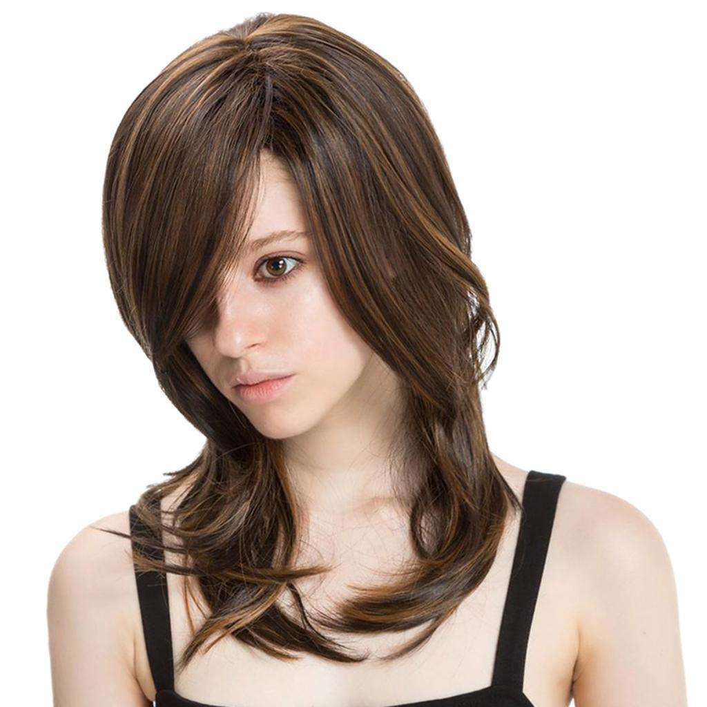 16-039-039-Natural-Looking-Side-Part-Wavy-Straight-Full-Hair-Wig-Women-Wedding-Wig thumbnail 18