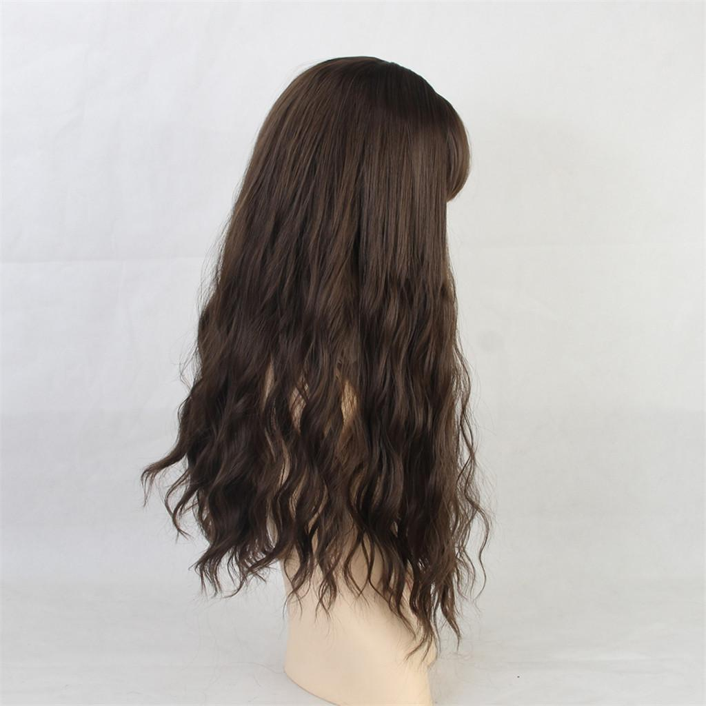 26-034-Natural-Looking-Curly-Cosplay-Women-Hair-Wigs-w-Bangs-for-Dating-Party thumbnail 24