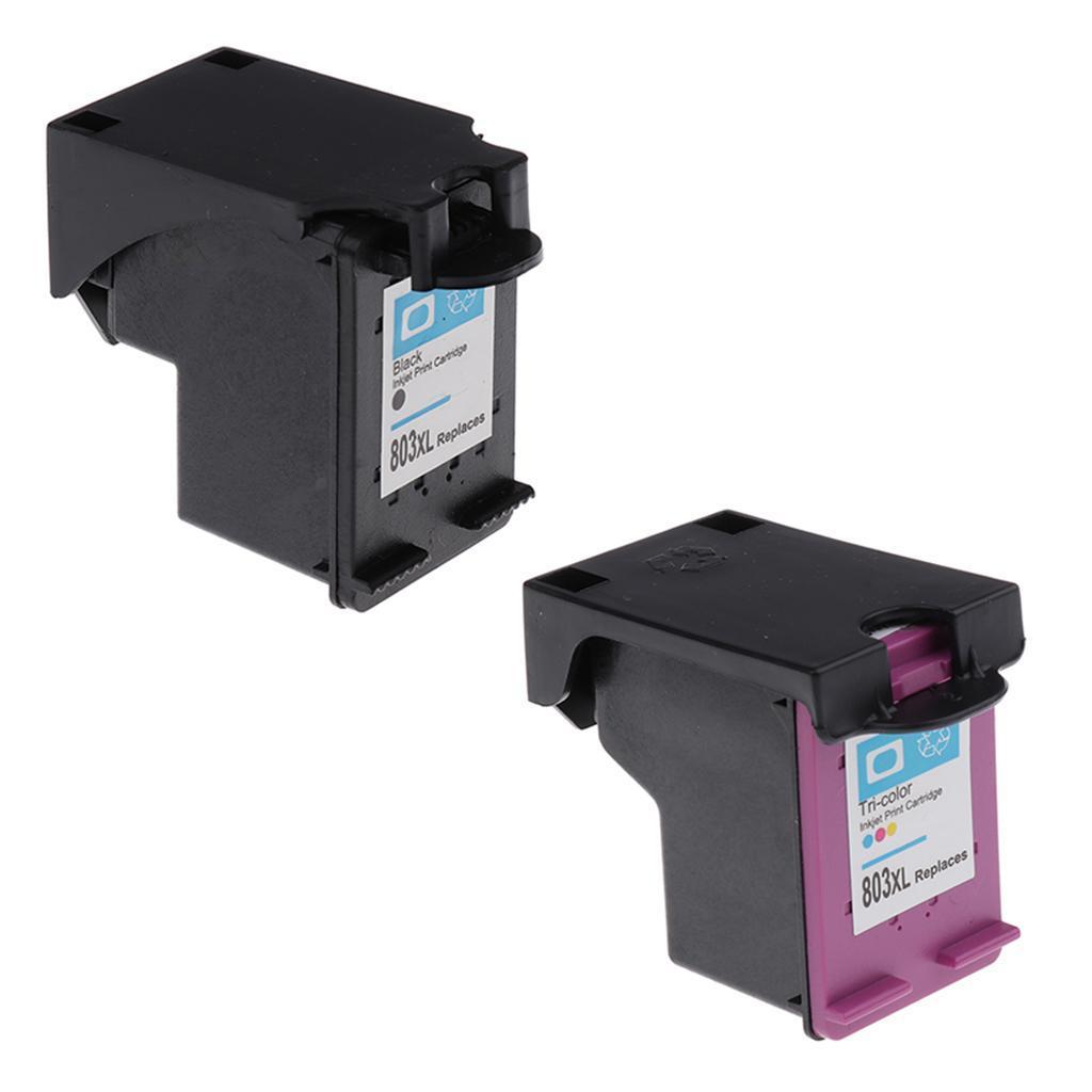 Printer Ink Cartridge 803xl Black New Chip For Hp Deskjet Canon Pgi 750xl Hp2132