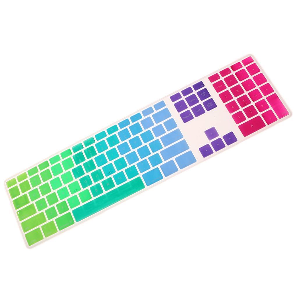 Ultra-Thin-Keyboard-Skin-Cover-For-Apple-IMac-G6-MB110LL-B-MB110LL-A-A1243 thumbnail 5