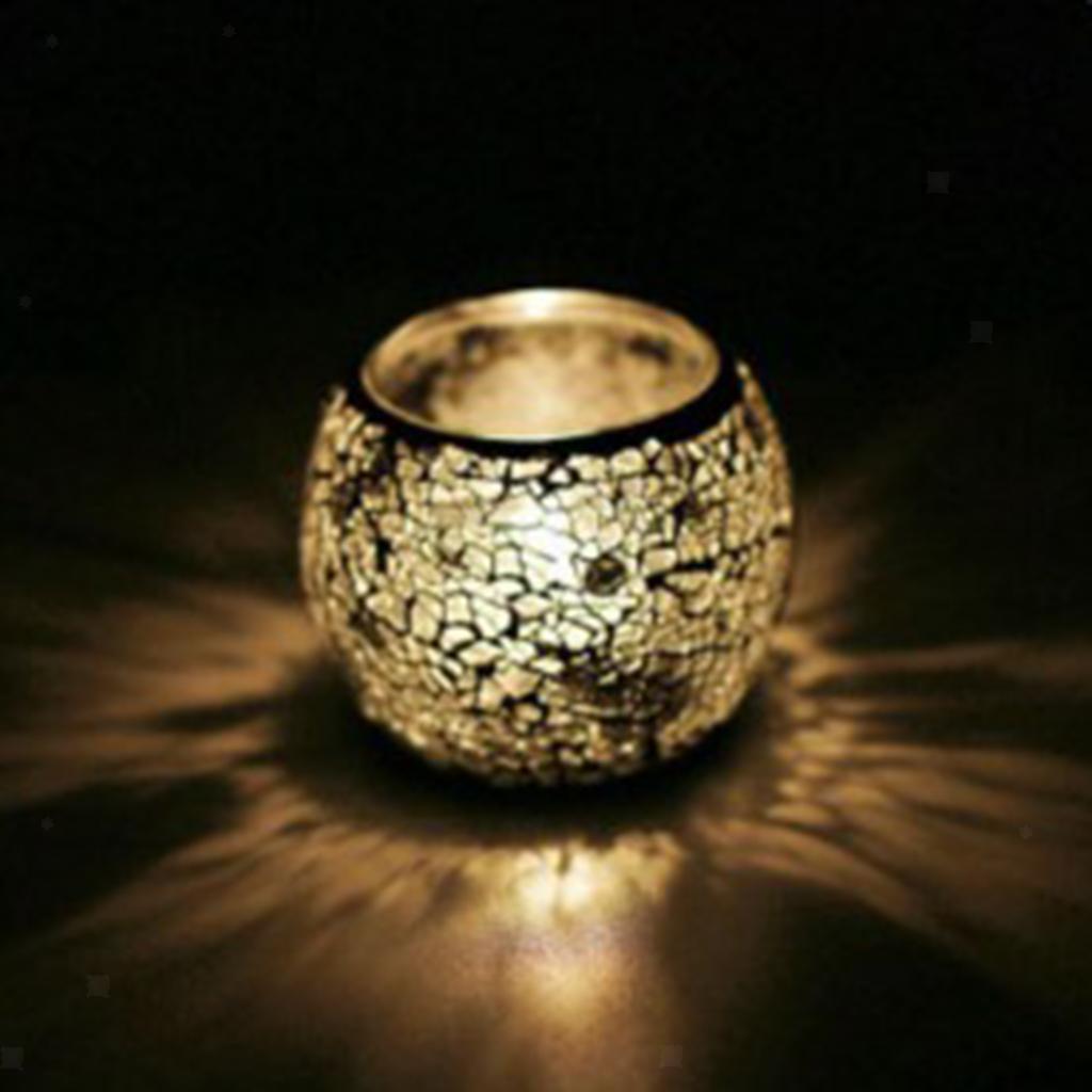 Assorted-Moroccan-Mosaic-Glass-Votive-Candle-Tea-Light-Candelabra-Candlestick thumbnail 32