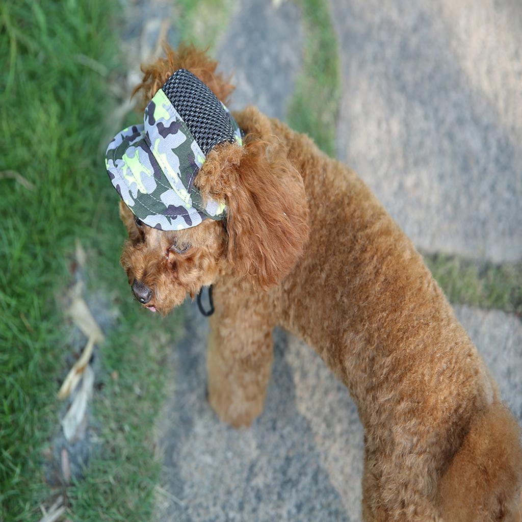 Pet-Dog-Puppy-Baseball-Visor-Hat-Peaked-Cap-Sunbonnet-Outdoor-Topee-Summer-PICK thumbnail 28