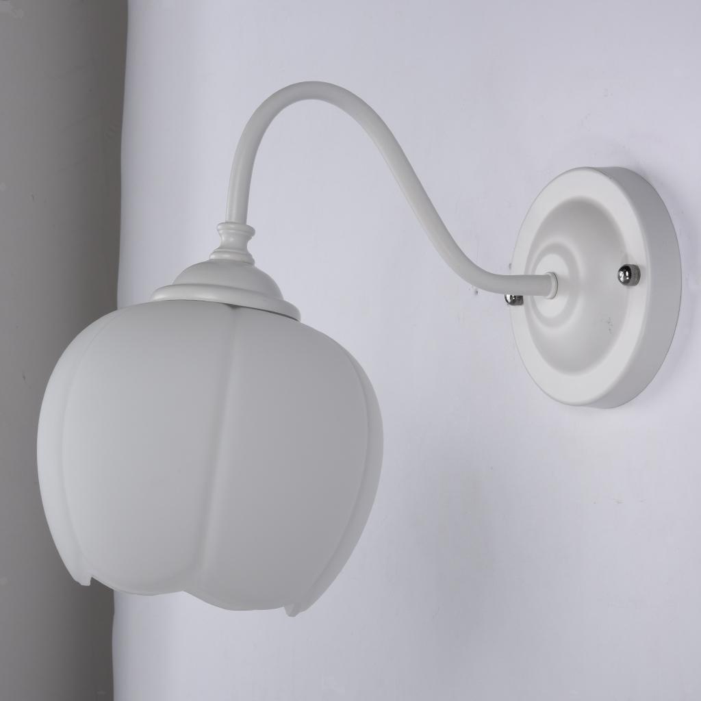 E27-Light-Holder-Replacement-White-Glass-Light-Shade thumbnail 5